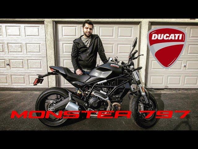 Ducati Monster 797 Motosiklet İncelemesi