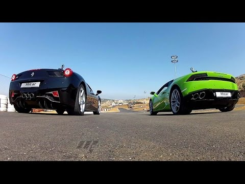 lamborghini huracan vs ferrari 458 italia. Black Bedroom Furniture Sets. Home Design Ideas