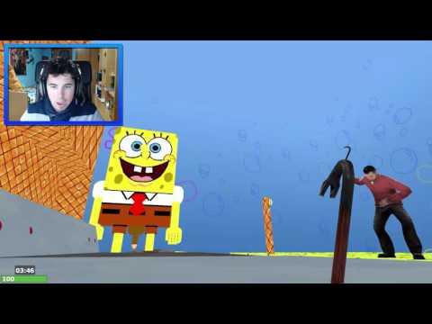 Garry`s Mod | BOB ESPONJA DESNUDO!! | c/ Abel, sTaXx y Fargan | DEATH RUN #1
