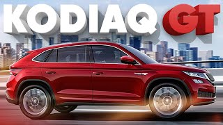 Купе Skoda Kodiaq GT 2019 // Большой тест-драйв