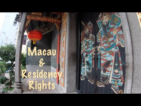 [4K] Walking Macau: Residency Rights for Foreigners
