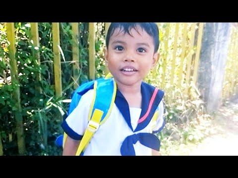 Misi Jemput Zefa Pulang Sekolah ❤