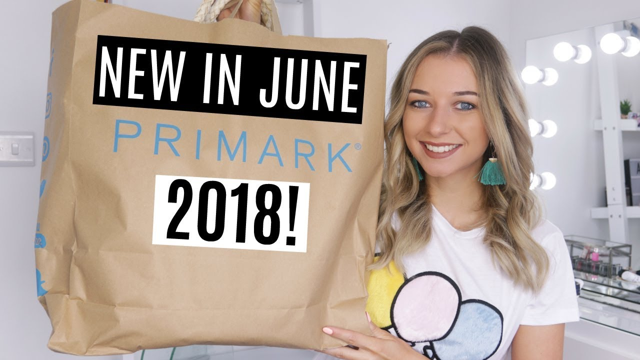2c8e2cbca0 PRIMARK HAUL + TRY ON! JUNE 2018 / NEW IN! - YouTube