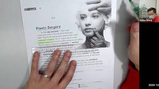 Publication Date: 2020-12-16 | Video Title: Plastic surgery