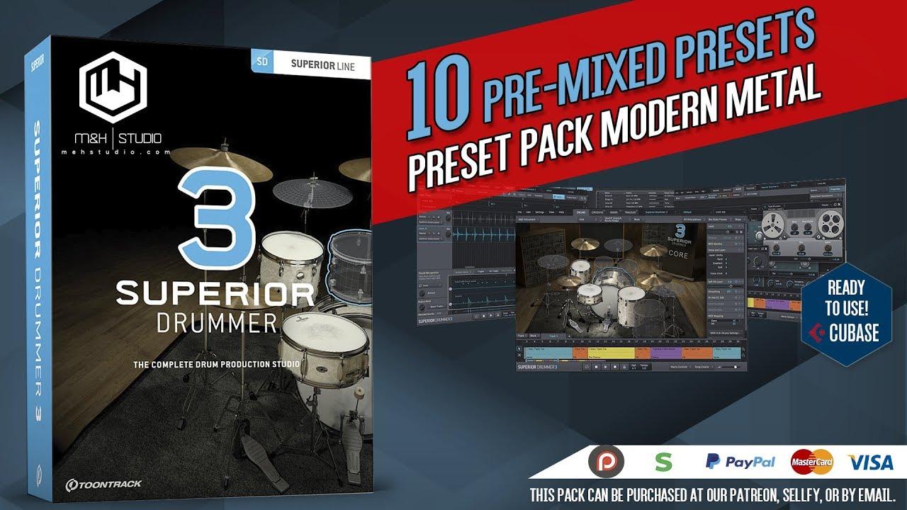 superior drummer 2 producer presets