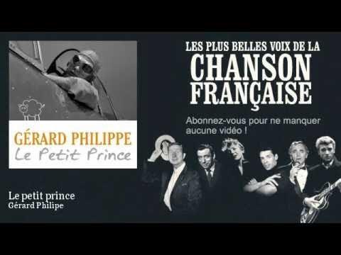Gérard Philipe  Le petit prince