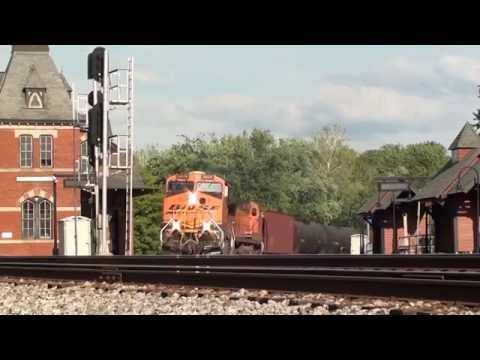 HiDef: BNSF, NS, CSX, Amtrak & More at Shenandoah Jct. and Point of Rocks. 5-17-14.