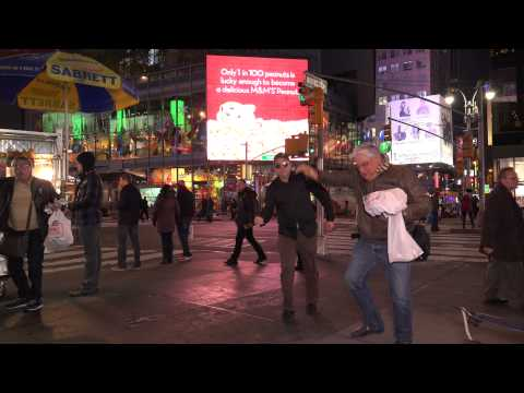 DAY 20 - TIMES SQUARE 69 - Life Diamonds in the Dark by John Dahlback