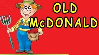 Old MacDonald Had a Farm - Nursery Rhyme - Children