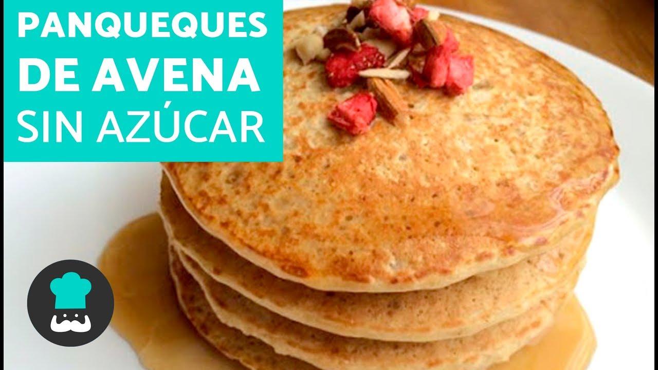 Panqueques De Avena Sin Azúcar Receta De Tortitas De Avena Saludables Youtube