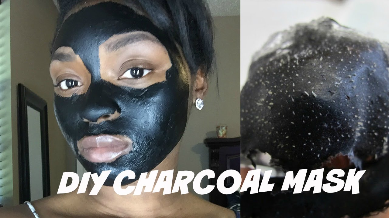 Diy easy charcoal maskhow to remove blackheads youtube solutioingenieria Images