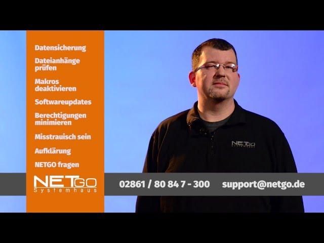 NETGO Inside - Teil 1 - Ransomware