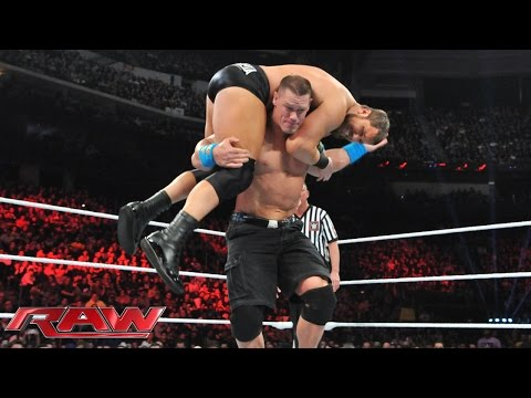 John Cena vs. Curtis Axel: Raw, March 2, 2015