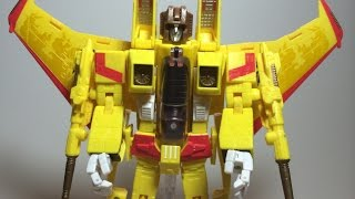 Transformers Masterpiece Sunstorm Review