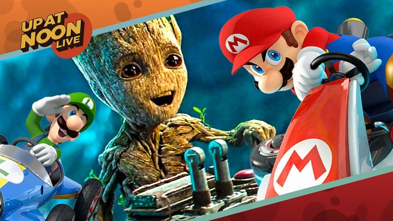 Guardians of the Galaxy Vol. 2 Reviews, Mario Kart 8, & Plushies! – Up At Noon Live!