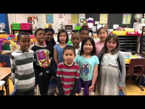 East Side Learning Center Children Thank You 2018