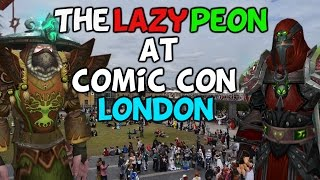 "TheLazyPeon At London Comic Con London 2015 ""Random Cosplay Wrestling?!"""