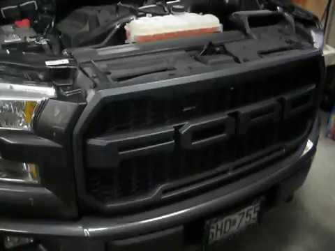 2016 F 150 Ford Raptor Style Grille Change