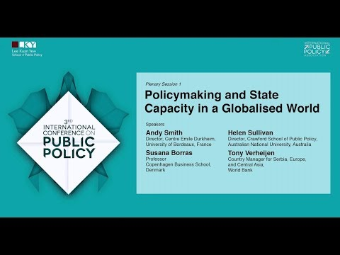 Policymaking and State Capacity in a Globalised World