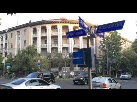 Yerevan, 29.07.15, Teryan Str. Video-1