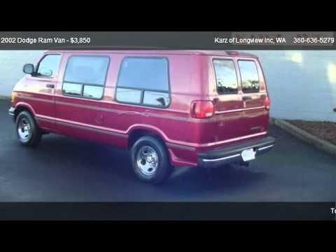 2002 Dodge Ram Van CONVERSION VAN