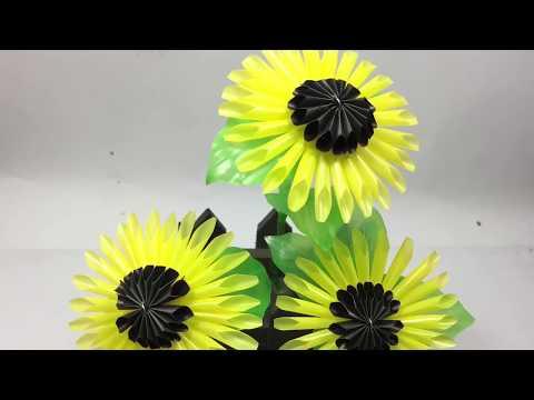 Bunga Matahari Dari Sedotan Youtube