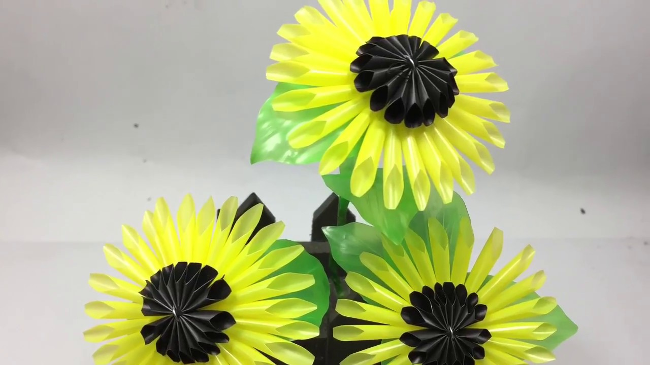 Bunga MATAHARI dari SEDOTAN - YouTube accf70f540