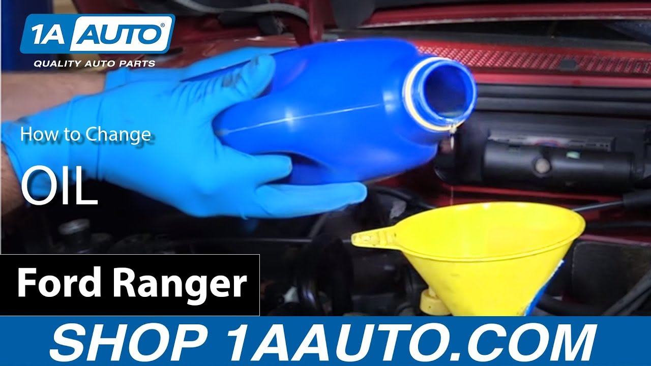 How to change oil 4 0l v6 2001 ford ranger ford explorer buy quality auto parts at 1aauto com youtube