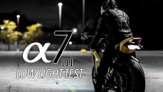 EXTREME SONY A7III LOW LIGHT TEST!  -