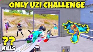 only UZi challenge in PUBG Mobile ERANGEL 2.0 Gone Wrong - MRX