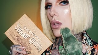Grav3yardgirl x Tarte SWAMP QUEEN Palette Tutorial | Jeffree Star