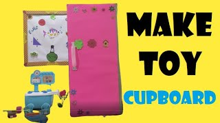 MAKE TOY CUPBOARD FROM PARCEL BOX WITH ME