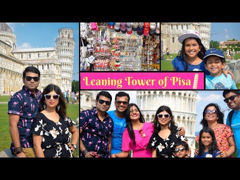 Leaning Tower Of Pisa    Day Tour From Rome    Best Europe Travel Vlog #5    Indian Vlogger