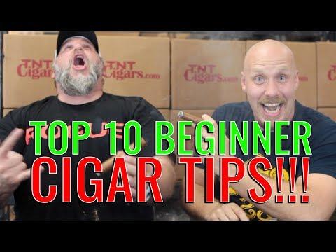 Top 10 Beginner Cigar Tips of 2017 (f. Liga No. 10 Blonde Rosado FULL REVIEW)