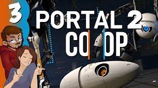 Let's Play | Portal 2: Co-Op (w/Neya) - Part 3 - Distracting Sex Talk