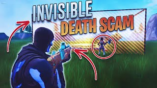 The Invisible Death Barrier Scam For His Inventory! (Scammer Gets Scammed) Fortnite Save The World