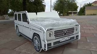 Кровать машина Mercedes Gelandewagen