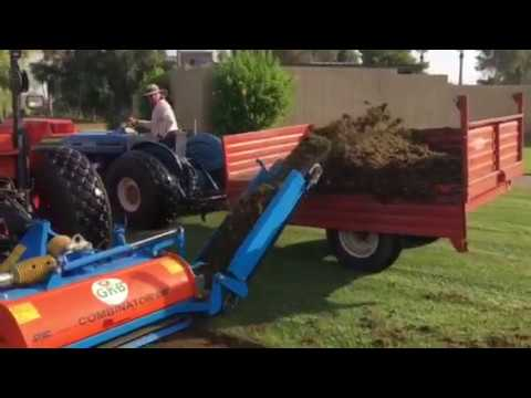 Harvesting Sprigs 2 | Turf Equipment Source