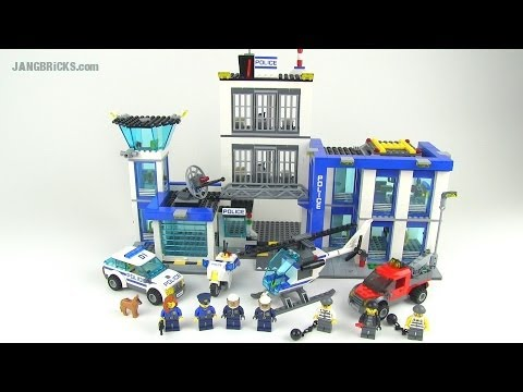 LEGO City 2014 Police Station set 60047 reviewed! - YouTube