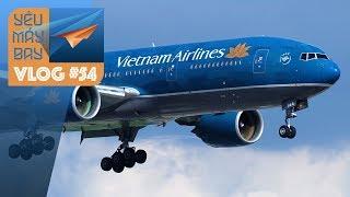 VLOG #54: Tạm biệt một biểu tượng: Boeing 777 của Vietnam Airlines | Yêu Máy Bay