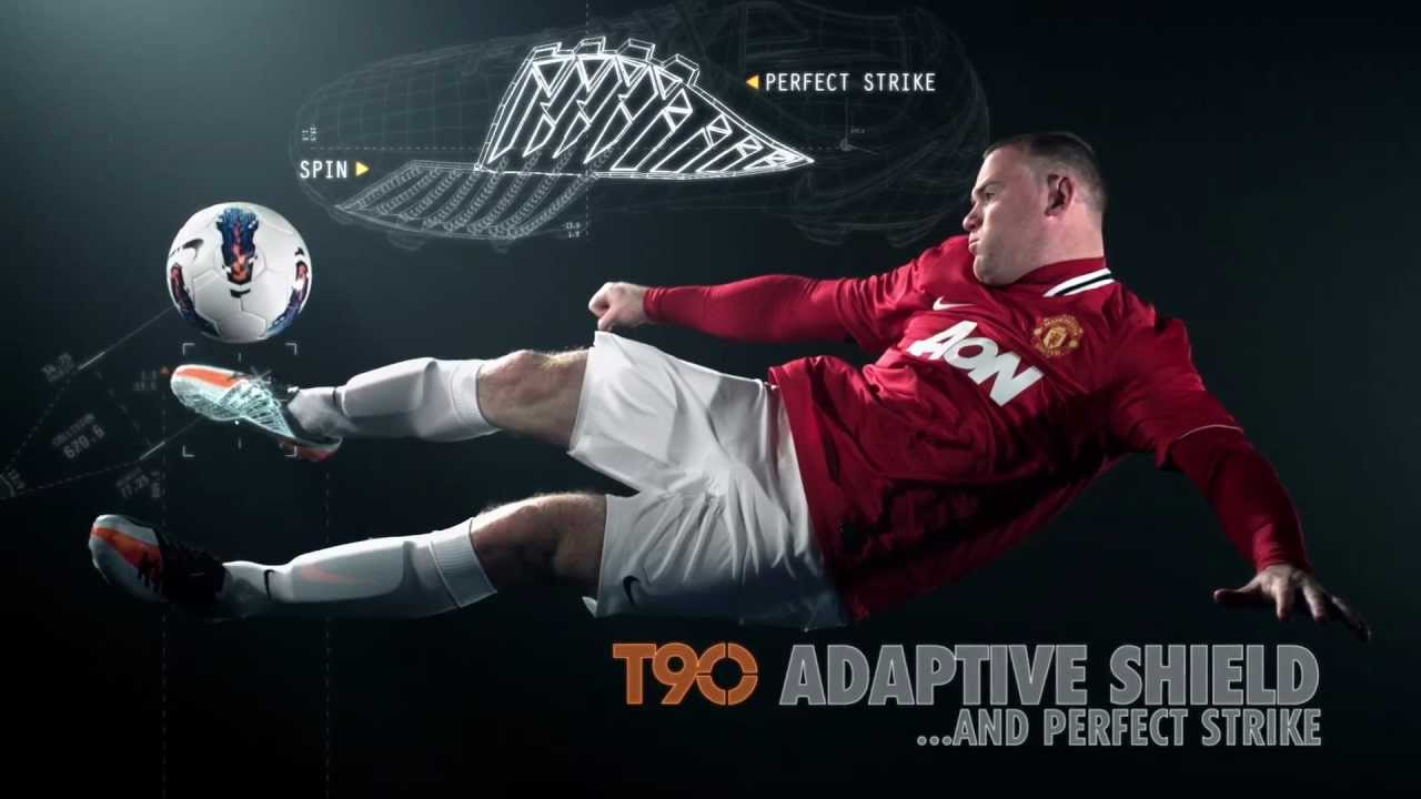 2b672b52d781 Nike T90 Laser - Wayne Rooney Football Boots - YouTube