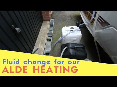 Fluid Change for Alde Heating