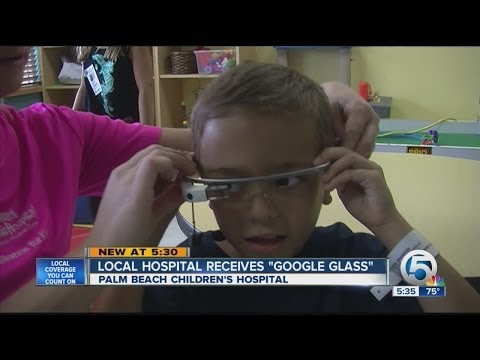 Local hospital receives 'Google Glass'