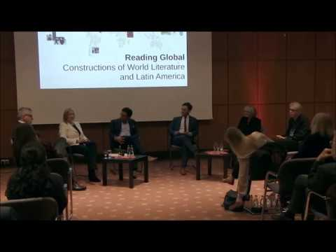 ERC Consolidator Grant  Reading Global // Podiumsdiskussion Literaturbetrieb global