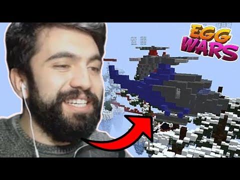 HELİKOPTER OPERASYONU !!! | Minecraft: EGG WARS