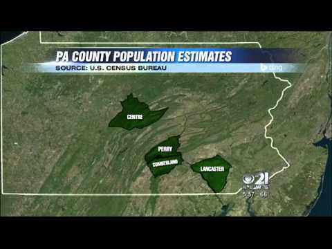 Midstate counties see population boom