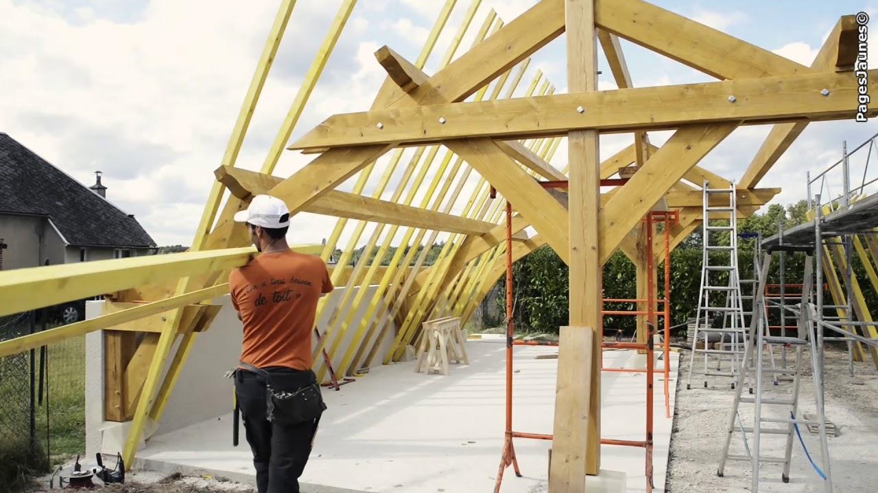 Constructeur Maison En Bois Loir Et Cher segret charpente, charpente, couverture et maisons bois à  villefranche-sur-cher.
