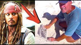 Остров из фильма Пираты Карибского моря, нашли клад Джека-Воробья   капитан Костя