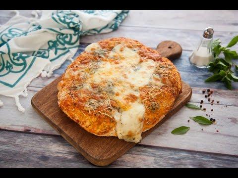 عجينة البيتزا الصحية  +بيتزا الأجبان الاربعة + بيتزا الفصول الاربعة  - مطبخ اسيا ج1