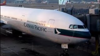 CATHAY PACIFIC Flight from Hong Kong to Manila Oct 2017